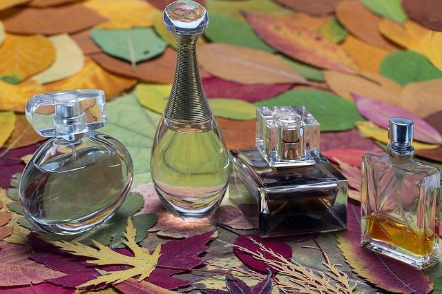 parfémy na listech