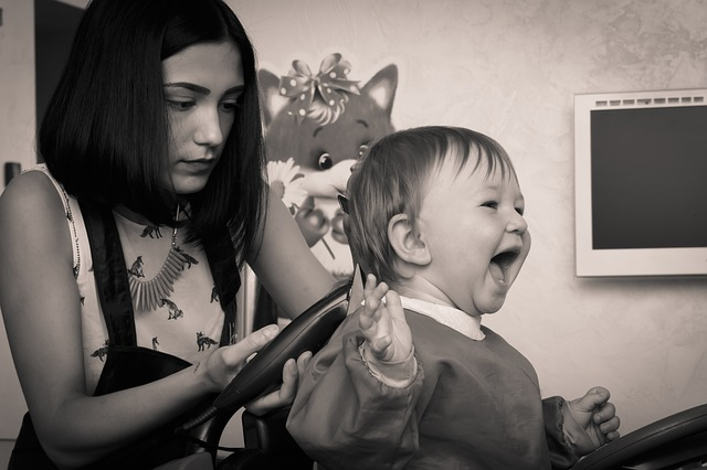 dětská kadeřnice