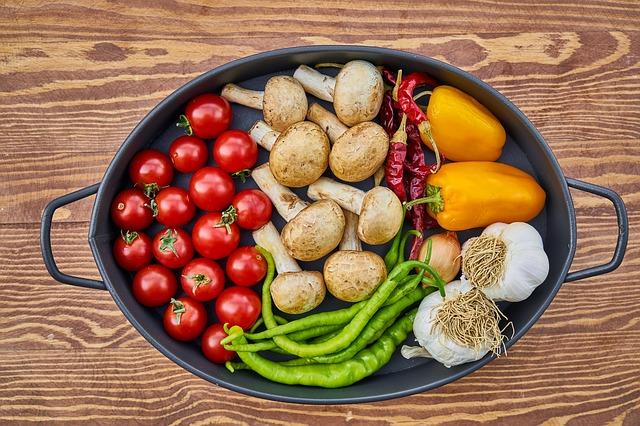 hrnec zeleniny
